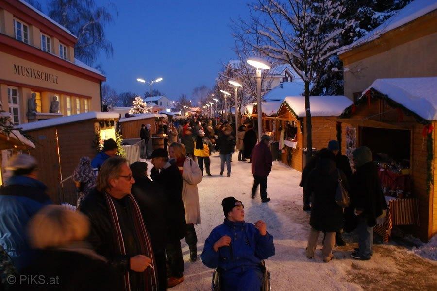 Weihnachtsmarkt in Deutsch Wagram 2010