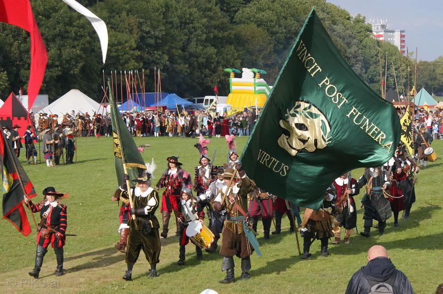 Schlacht am Weissenberg – die Parade 2010
