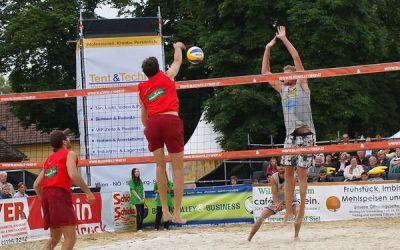 Storchenfest und Beach Volleyball 2010